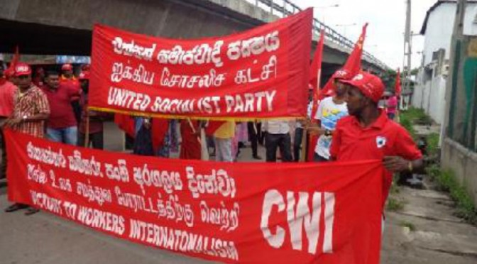 Sri Lanka: May Day celebration in Colombo
