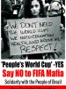 &#8216;People&#8217;s World Cup&#8217; -YES <br /> Say NO to FIFA Mafia