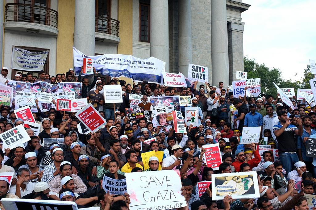 Bangalore spoke for Gaza