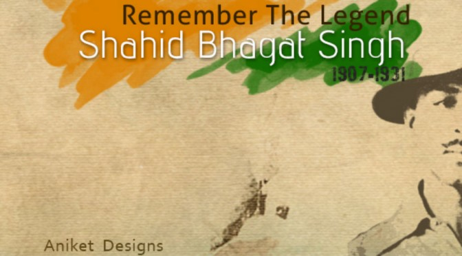 Commemorating Bhagat Singh's Birth Anniversary