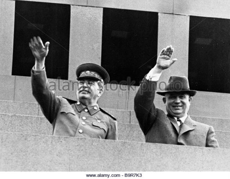 Josef Stalin Nikita Khrushchev