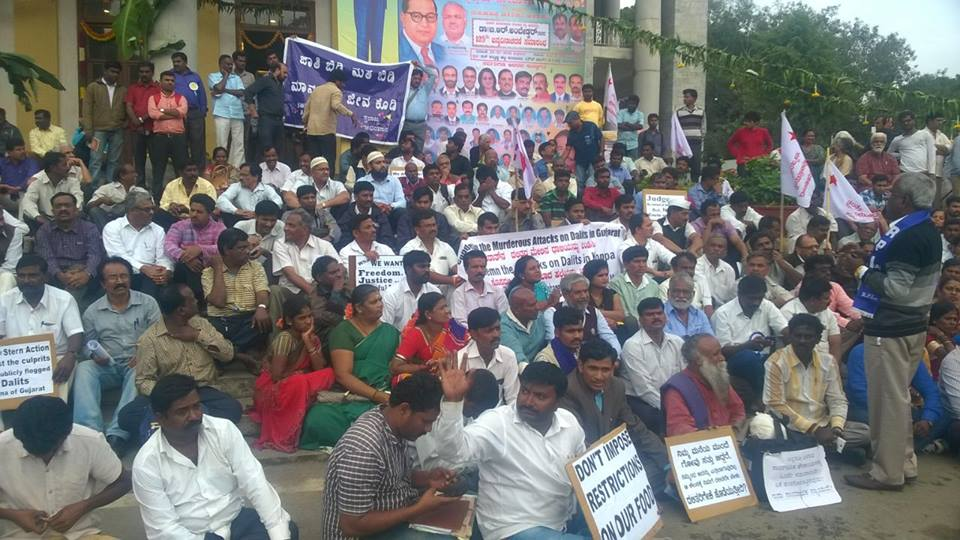 Una Dalit Protests