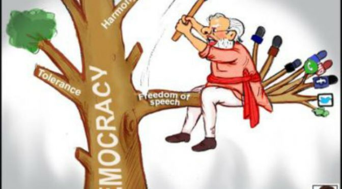India Under Modi – Dismantling democracy one brick at a time
