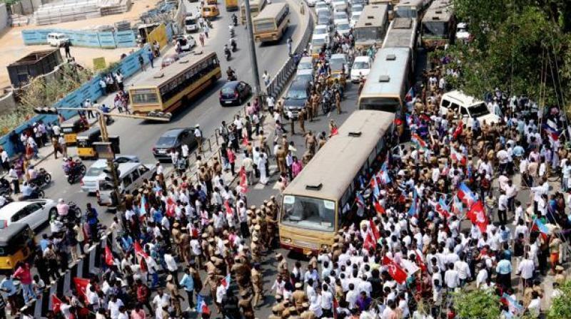 Tamil Nadu transport strike