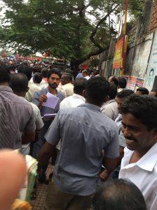 Transport workers strike (TN)