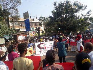 New Socialist Alternative, Pune intervening during the General Strike.